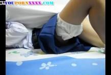 คลิปหลุดไทย!!!อย่างแจ่มตั้งกล้องล่อเด็กนักเรียนคาซองคาชุด