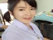 เด็กนักเรียนไทยใจแตกเปิดนมเปิดหีโชว์ในห้องเรียน