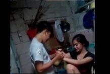 คลิปโป๊ไทยแอบเย็ดกับพี่สะใภ้ในครัวหลังบ้านพี่สะใภ้น่ารักมากทำเป็นขัดขืน