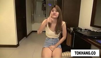 หนังโป๊ไทยคนนี้แจ่มจริงเด็กไซด์ไลน์สาวโดนเอาเงินซื้อมาเล่นหนังxxxเรื่องนี้ถ่ายทำปี2017