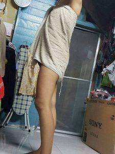 รูปโป๊ทางบ้านแอบถ่ายเมียใส่เสื้อผ้าไปทำงาน