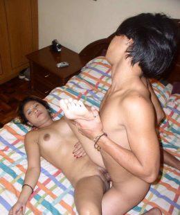 หลานชายเย็ดน้าสาวไทยแท้ของจริง