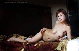 รูปหีนางแบบสาวจีนน่ารักขนดก