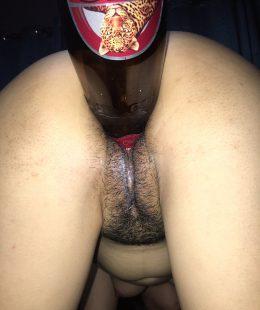 ขวดเบียร์ยัดหีจนเมียน้ำแตก